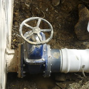 Construccion de Linea de Conduccion de Agua en Dos Rios, Veracruz