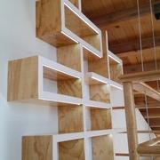 Libreros o re diseño con iluminación led