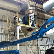 Limpieza de ductos de hornos en AAM