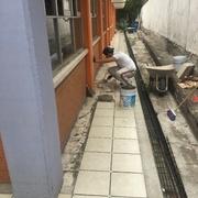 Mantenimiento y cambio de porcelanato en pisos