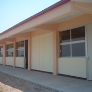 Construcción de Aulas, Biblioteca, Modulo de Escaleras y obra exterior de un CECYTEH