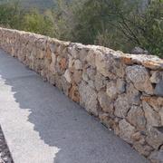 Muro de mampostería