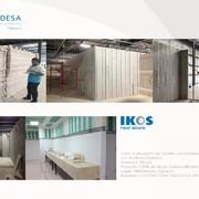 Distribuidores Corev - Muros divisorios de baños y oficinas CEDIS Soriana