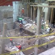 Obra construcción de departamentos