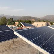 KIt solar de 12 paneles de 250W monocristalinos inversor central de 3.6KW