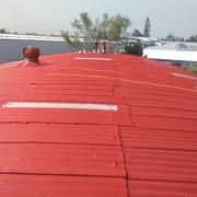 Impermeabilización de bodega Gpo. Beredali (1,300 m2 lamina de asbesto)