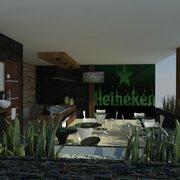 Cafetería para Productora  de cerveza Heineken