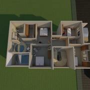 Proyecto Casa habitación Gallo Colorado