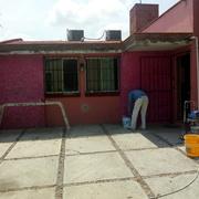 Preparando fachada exterior