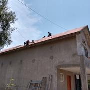Impermeabilizacion en tejado inclinado