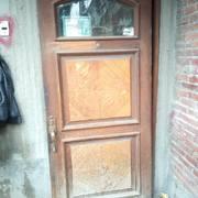 Puerta de entrada madera
