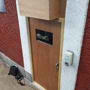 Puerta para aislamiento acústico