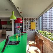 terraza integrada en sala
