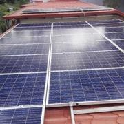Paneles solares restaurante