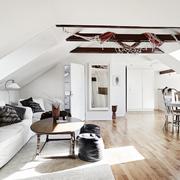 techo bajo blanco