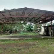 Techumbre para escuela en La Ceja, Pedro Escobedo