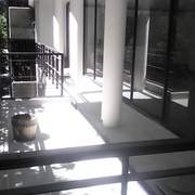 terraza con granito