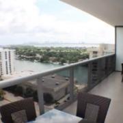 Terraza departamento MEI. Miami Florida.