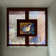 ventana fija y proyeccion.