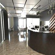 Vestíbulo área de oficinas