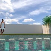 Alberca y cuarto de maquinas; SWMQo; STX; Cancun