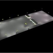 Iluminación de Patio de Maniobras Trailers Veracruz, Veracruz.
