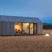 Exterior casa prefabricada de concreto