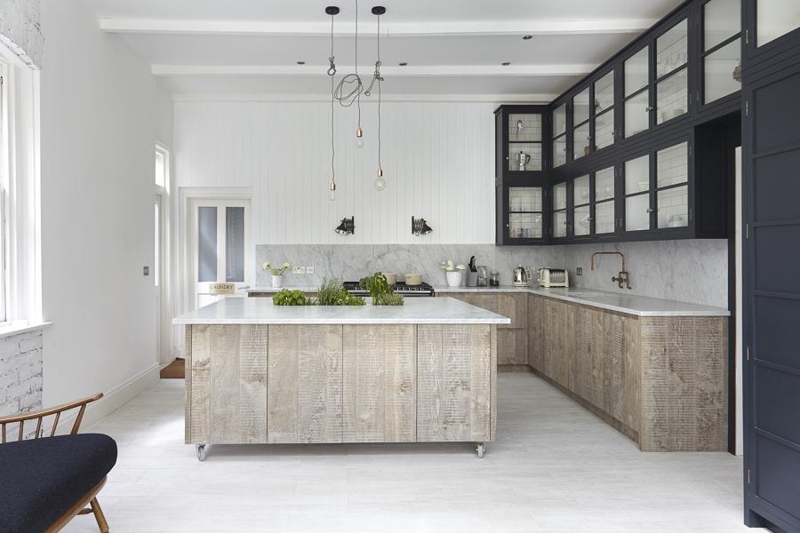 El top 3 en cubiertas de cocina: granito, mármol sintético y ...