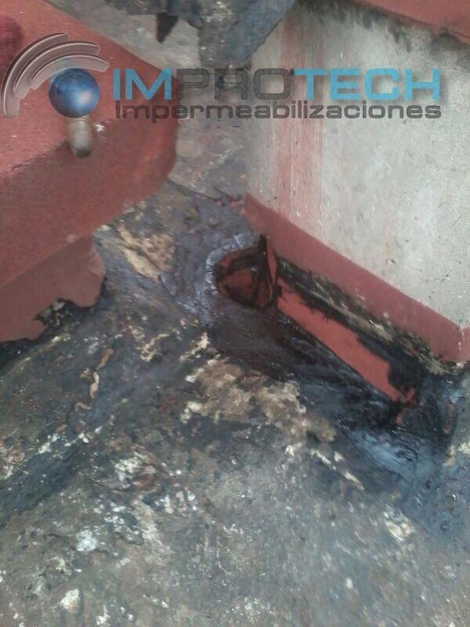 2 .- Limpieza y trabajos de impermeabilización