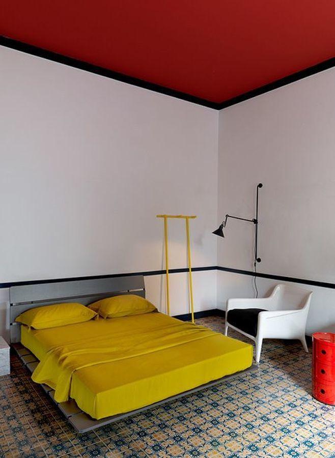 techo rojo