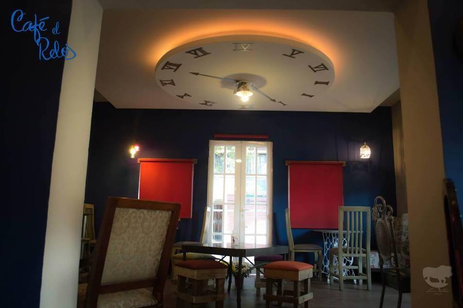 Cafeter a el reloj ideas dise o de interiores - Ideas de diseno de interiores ...