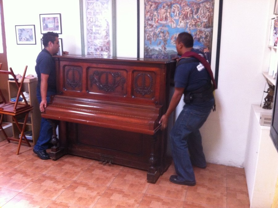Acomodo de piano