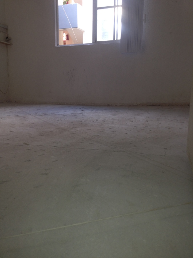 Adecuaci n y nivelaci n de piso firme de concreto para for Piso cemento pulido