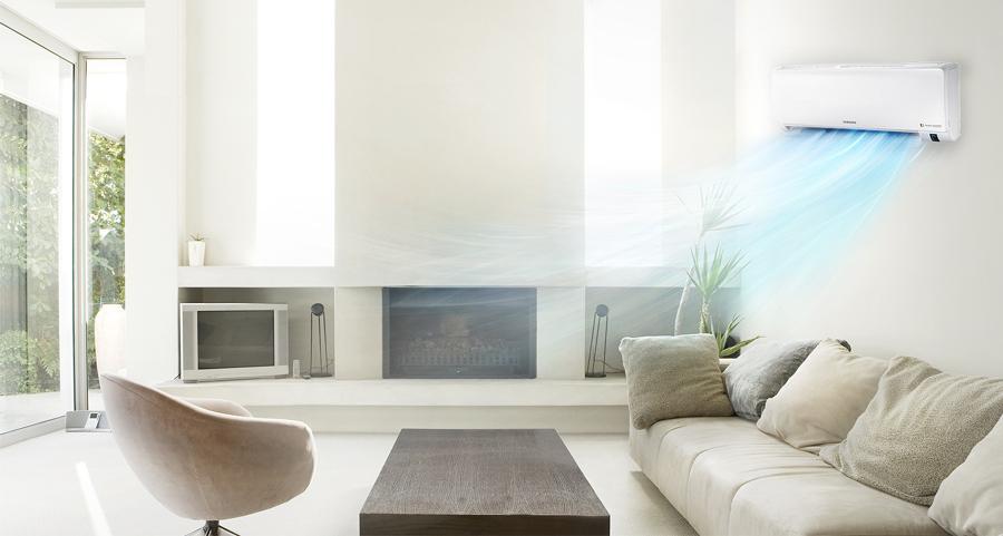 aire acondicionado en casa
