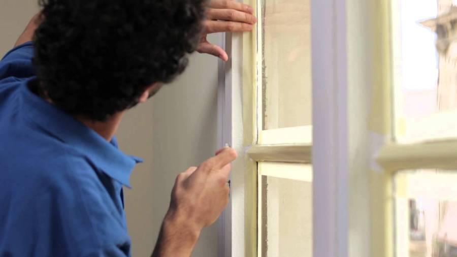 aislar ventana