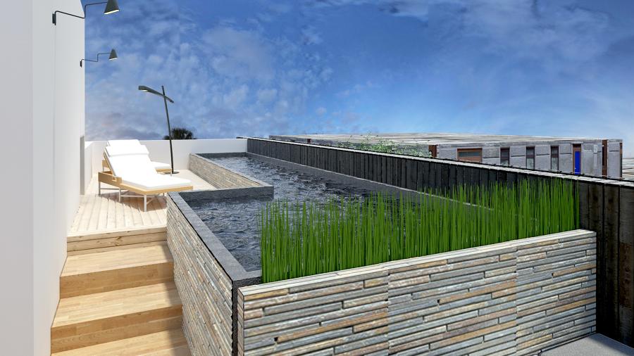 Casa lindavista ideas arquitectos for Construir alberca en azotea