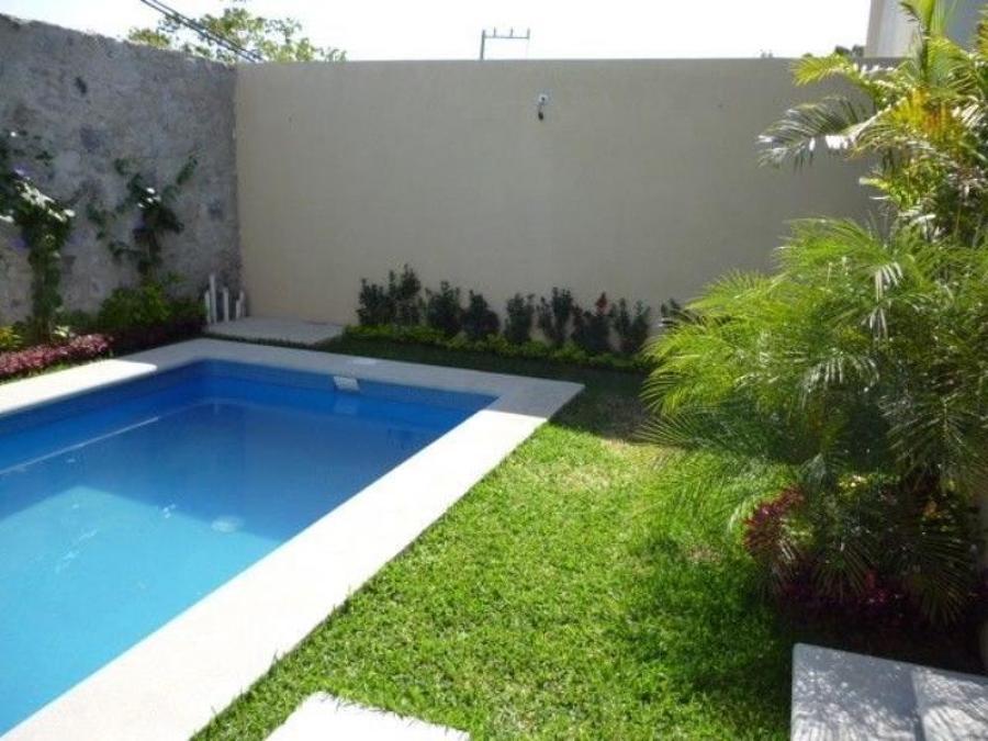 Fraccionamiento temixco ideas construcci n casa for Alberca con jardin