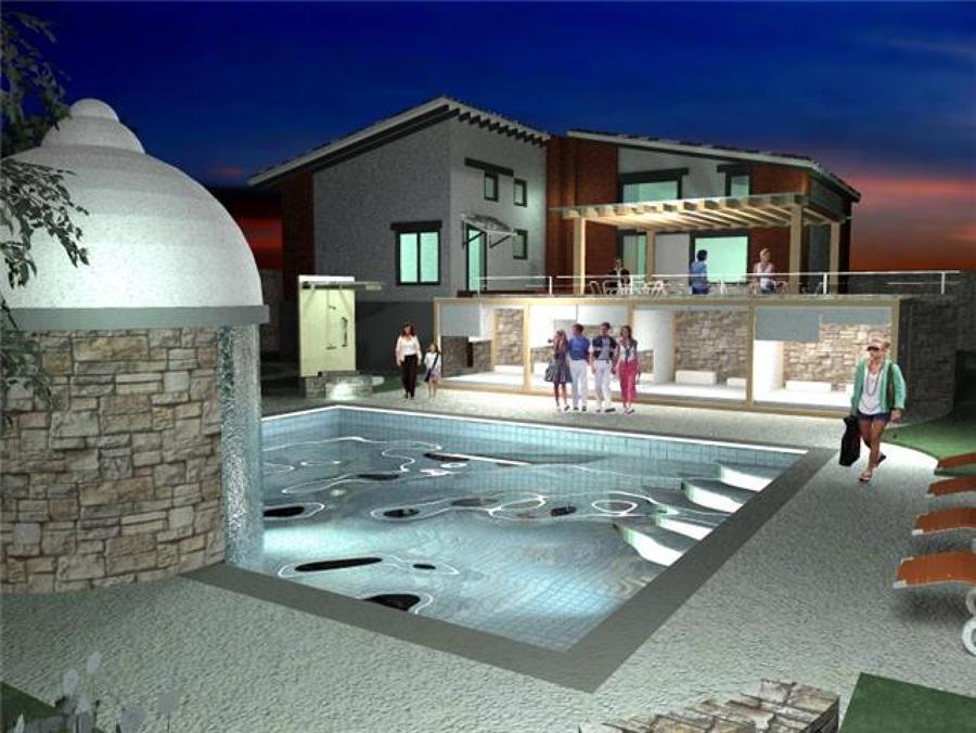 Foto alberca valle de bravo de trazzo arquitectura 2535 for Casa minimalista con alberca