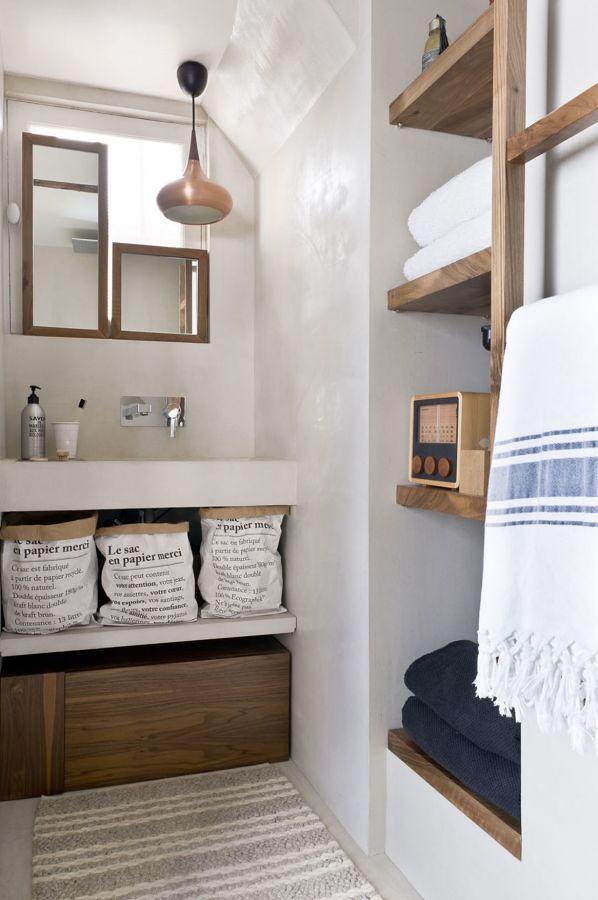 Foto ba o con repisas de madera 306454 habitissimo - Mucho mueble leon ...