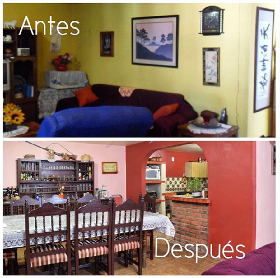 Ampliación ANTES & DESPUÉS