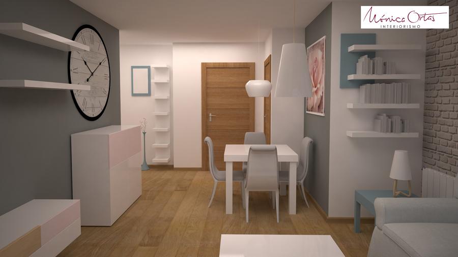 Anteproyecto con imágenes 3D zona entrada