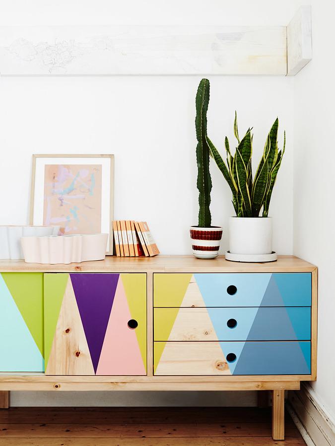 Foto mueble artesanal pintado 209767 habitissimo - Mucho mueble leon ...