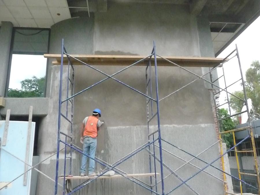 Aplanado del muro