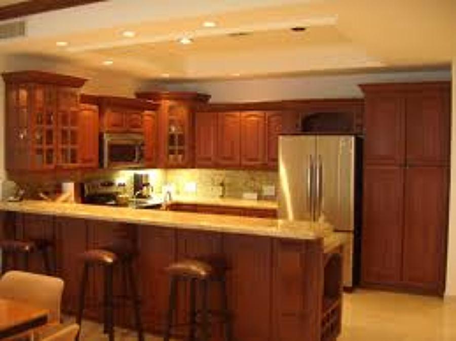 Área de cocina del condominio