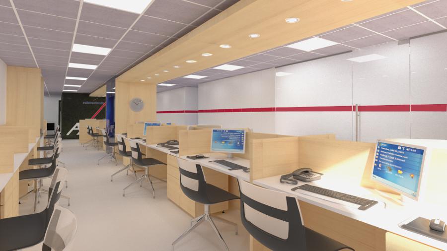 Remodelaci n oficinas ideas arquitectos for Oficinas de axa
