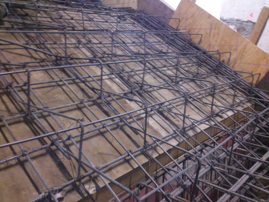 Foto armado para escalera de concreto de proyectos y for Escaleras de metal y concreto