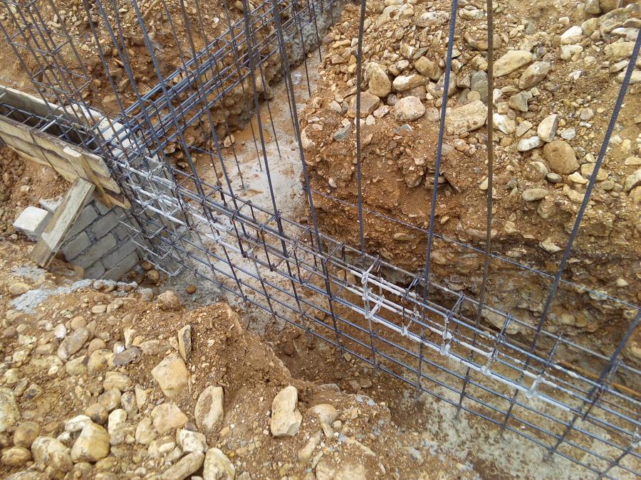 Trabajos realizados en 2017 ideas construcci n casa for Muro de concreto armado