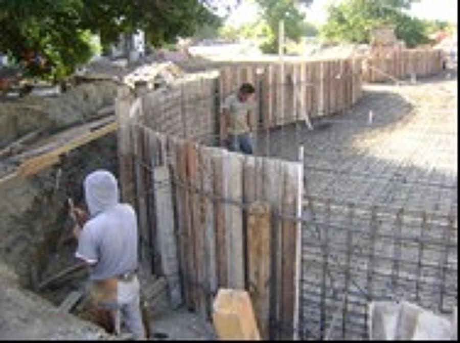 Foto armado y colado de alberca de gm servicios 148474 for Construccion de albercas en mexico