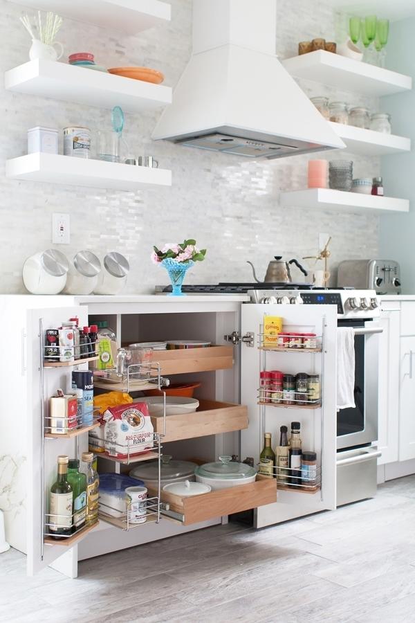 8 soluciones inteligentes de almacenamiento en la cocina for Armarios para cocina