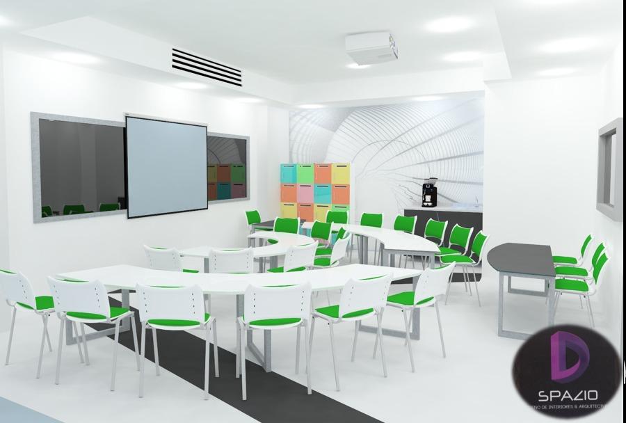 Foto aula inteligente de spazio dise o de interiores y for Aulas web arquitectura